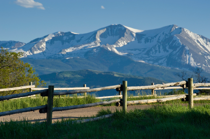 Mt. Sopris presiding over the Roaring Fork Valley